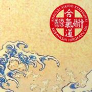 Autre exemple : affiche aikido bord de mer