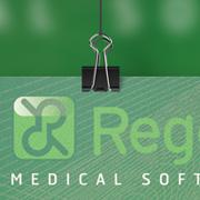 Exemple de signalétique : affiche Regevy