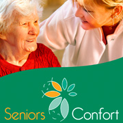 Exemple de document print : plaquette Seniors Confort
