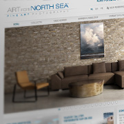 Exemple de webdesign : Art for North Sea