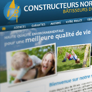 Exemple de webdesign : Constructeurs Normands