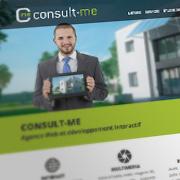 Exemple de webdesign : Consult-me