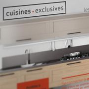 Exemple de webdesign : Cuisines Exclusives