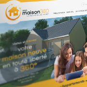 Exemple de webdesign : Ma Maison 360