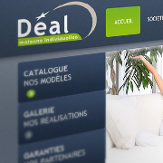 Exemple de webdesign : Maisons Deal